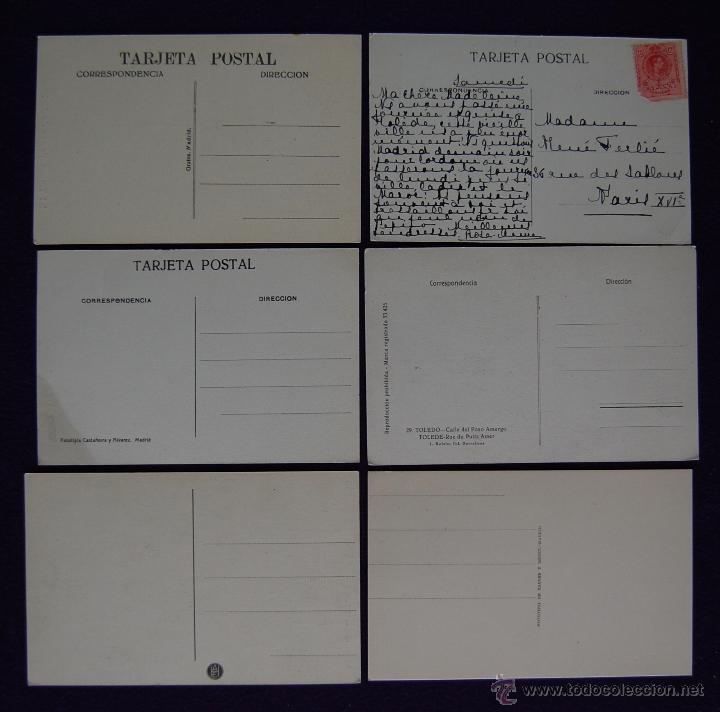Postales: 12 POSTALES DE TOLEDO. DE 1915 A 1940. CASI TODAS ANIMADAS Y OTRA DE LA CASA DEL GRECO - Foto 4 - 49675823