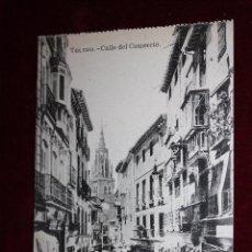 Postales: ANTIGUA POSTAL DE TOLEDO. CALLE DEL COMERCIO. FOTPIA. J. ROIG. SIN CIRCULAR. Lote 49971901