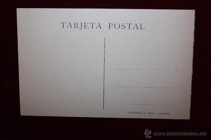 Postales: ANTIGUA POSTAL DE TOLEDO. CALLE DEL COMERCIO. FOTPIA. J. ROIG. SIN CIRCULAR - Foto 2 - 49971901