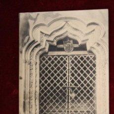 Postales: ANTIGUA POSTAL DE TOLEDO. LA CATEDRAL, PUERTA DE DON PEDRO TENORIO (S. XIV). SIN CIRCULAR. Lote 49972396