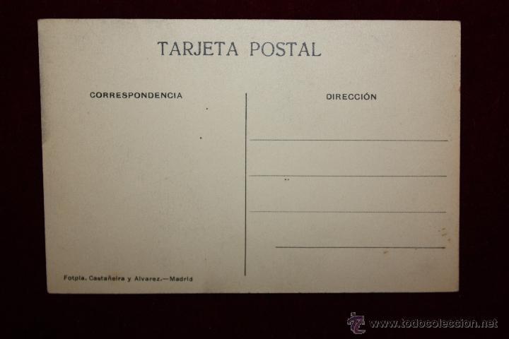 Postales: ANTIGUA POSTAL DE TOLEDO. CALLE DEL COMERCIO. FOTPIA. CASTAÑEIRA Y ALVAREZ. SIN CIRCULAR - Foto 2 - 49972443