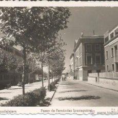 Postales: GUADALAJARA - PASEO DE FERNÁNDEZ IPARRAGUIRRE - Nº 17 ED. ARRIBAS. Lote 50597628