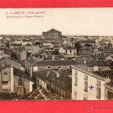 Postcards - albacete. 6 vista general. fotografíca. bazar collado - 50743982