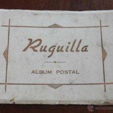 Postales: RUGUILLA (GUADALAJARA), ALBUM POSTAL DE 12 POSTALES, TAL COMO SE VE EN LAS FOTOS PUESTAS.. Lote 50746464