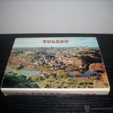 Postales: LOTE DE POSTALES DE TOLEDO , LIBRILLO DE 20 POSTALES. Lote 51079281