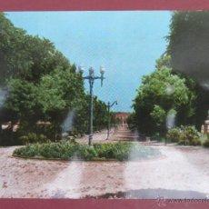 Postales: ALMAGRO (CIUDAD REAL).- PASEO DE LA ESTACIÓN. (M. MATA). 1966.. Lote 51147561
