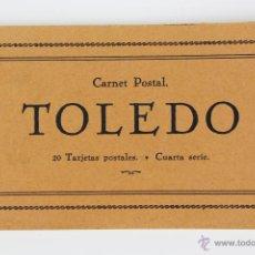 Postales: P-2518. TOLEDO. CARNET POSTAL. 20 TARJETAS POSTALES. CUARTA SERIE. COMPLETA. AÑOS 20-30. . Lote 51436604