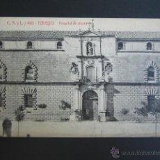 Postales: POSTAL TOLEDO. HOSPITAL DE AFUERA. . Lote 51557754