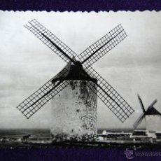 Postales: POSTAL DE CAMPO DE CRIPTANA (CIUDAD REAL). MOLINOS DE VIENTO. AÑOS 50. Lote 51796651