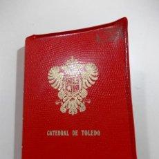 Postales: 20 ANTIGUAS POSTALES DEL INTERIOR DE LA CATREDRAL DE TOLEDO. Lote 52306085