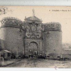 Postales: TOLEDO. PUERTA DE BISAGRA.. Lote 52660904