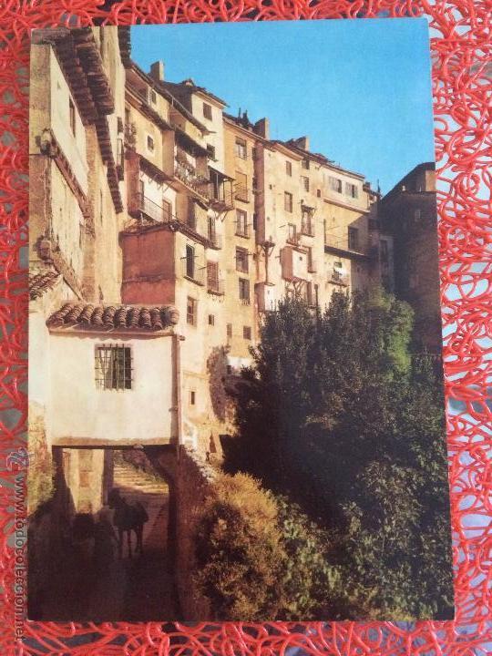 CUENCA. BAJADA A SAN MIGUEL. 1967 ED. AQUILINO PARDO (Postales - España - Castilla la Mancha Moderna (desde 1940))