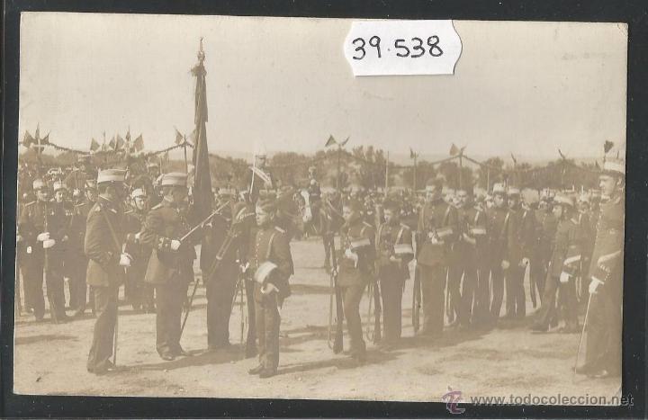 TOLEDO - JURA DE BANDERA - FOTOGRAFICA - (39538) (Postales - España - Castilla La Mancha Antigua (hasta 1939))