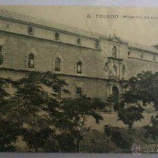 Postales: POSTAL TOLEDO - HOSPITAL DE AFUERA. Lote 53613517