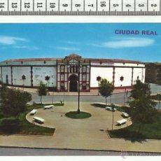 Postales: 11.70 TARJETA POSTAL DE CIUDAD REAL, PLAZA DE TOROS. Lote 54081125