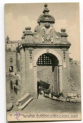 TOLEDO PUERTA DE ALCANTARA LL. SIN CIRCULAR (Postales - España - Castilla La Mancha Antigua (hasta 1939))