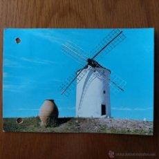 Postales: POSTAL MOLINO EL DONCEL ALCAZAR DE SAN JUAN CIUDAD REAL. ESCRITA. Lote 54387910