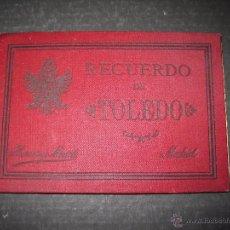 Postales: RECUERDO DE TOLEDO - HAUSER Y MENET -NO POSTAL-MIDE 8 X 12 CM. -VER FOTOS (V-4480). Lote 54541268
