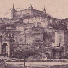 Postales: P- 4207. POSTAL DE TOLEDO. PUENTE DE ALCANTARA. H.A.E. MADRID.. Lote 54603218