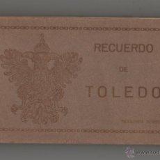 Postales: RECUERDO DE TOLEDO - SEGUNDA SERIE 20 TARJETAS.. Lote 54769581