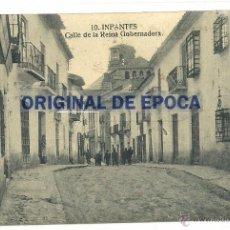 Postales: (PS-47916)POSTAL DE INFANTES-CALLE DE LA REINA GOBERNADORA. Lote 54830799