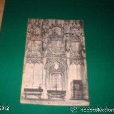Postales: POSTAL DE TOLEDO AÑOS 40. SIN ESCRIBIR POR DETRÁS. SAN JUAN DE LOS REYES. DETALLES. Lote 55151426