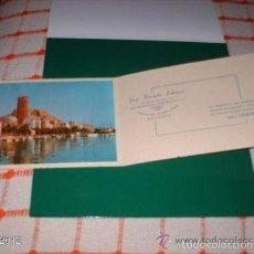 Postales: POSTAL PARA FELICITAR LAS NAVIDADES DE 1964. PEBSA, ALICANTE ALBACETE Y MURCIA. Lote 55176365