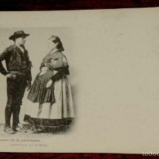 Postales: TOLEDO, ALDEANOS DE LA PROVINCIA (CASTILLA LA NUEVA), FOT. LAURENT, SIGLO XIX SERIE B Nº 37, SIN CIR. Lote 55369378