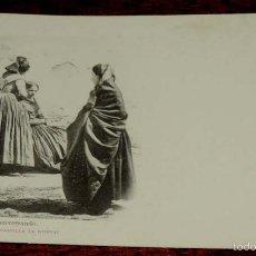 Postales: TOLEDO, ALDEANAS CONVERSANDO (CASTILLA LA NUEVA), FOT. LAURENT, SIGLO XIX SERIE B Nº 32, SIN CIRCULA. Lote 55369401