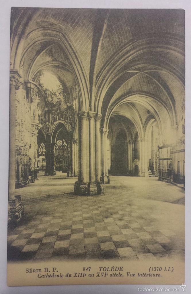 LUCIEN LEVY, POSTAL DE TOLEDE (TOLEDO) SERIE B.P. L.L. (Postales - España - Castilla La Mancha Antigua (hasta 1939))