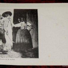 Postales: TOLEDO, UNAS FLORES EN LA ALDEA (CASTILLA LA NUEVA), FOT. LAURENT, SIGLO XIX SERIE B Nº 33, SIN CIRC. Lote 55805184