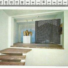 Postales: 13.327 TARJETA POSTAL, CHILLIDA, SEMPERE , MUSEO ARTE ABSTRACTO ESPAÑOL CASAS COLGADAS, CUENCA. Lote 56073120