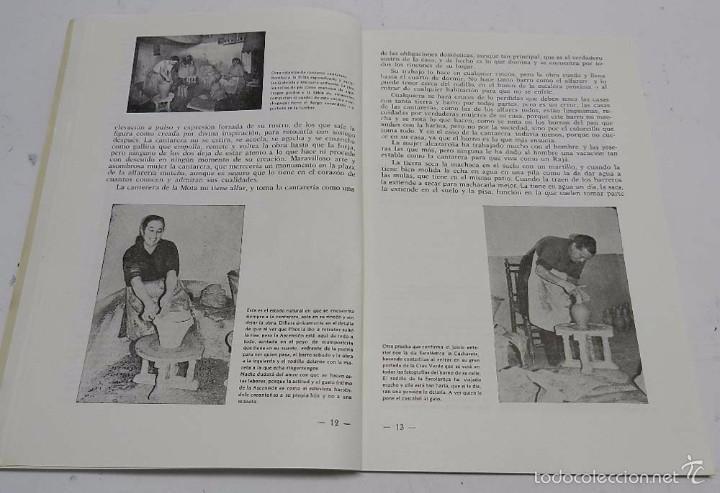 Postales: HOMBRES, LUGARES Y COSAS DE LA MANCHA, DEDICADO A LA ALFARERIA MANCHEGA, POR RAFAEL MAZUECOS, HORNO - Foto 4 - 56116455