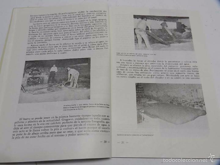 Postales: HOMBRES, LUGARES Y COSAS DE LA MANCHA, DEDICADO A LA ALFARERIA MANCHEGA, POR RAFAEL MAZUECOS, HORNO - Foto 6 - 56116455