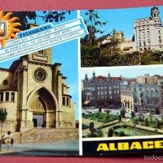 Postales: POSTAL DE ALBACETE. Lote 56138559