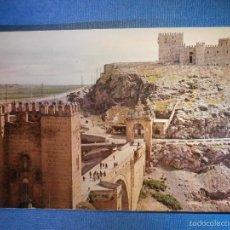 Postales: POSTAL - ESPAÑA - TOLEDO - PUENTE DE ALCÁNTARA Y CASTILLO DE SAN SERVANDO - EDICIONES IBERIA - NUEVA. Lote 56220469