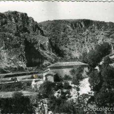 Postales: CAÑETE (CUENCA). MONUMENTO AL CORAZON DE JESUS EN LA TORRETA. EDICIONES ARRIBAS Nº 5. FOTOGRAFICA.. Lote 56538282
