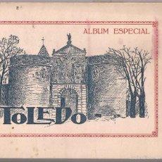Postales: ÁLBUM ESPECIAL TOLEDO HELIOTIPIA 18 LAMINAS (FORMATO MEDIO 25 X 18). Lote 56639750