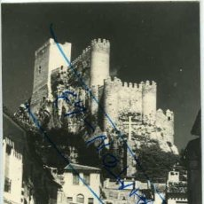 Postales: ALMANSA (ALBACETE). EL CASTILLO. FOTOGRAFICA. REVERSO EN BLANCO SIN IMPRIMIR.. Lote 58482197