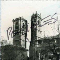 Postales: ALCARAZ (ALBACETE). LAS DOS TORRES. EDICION FOTO LÓPEZ Nº 10. FOTOGRAFICA.. Lote 56830792