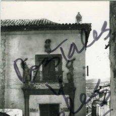 Postales: ALCARAZ (ALBACETE). ANTIGUA CASA DE LOS GALIANOS. EDIC. ARRIBAS Nº 4. FOTOGRAFICA.. Lote 56830836
