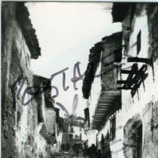 Postales: ALCARAZ (ALBACETE). CALLEJON TIPICO. EDIC. ARRIBAS Nº 2. FOTOGRAFICA.. Lote 56830870