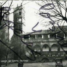 Postales: ALCARAZ (ALBACETE). LONJA DE SANTO DOMINGO. EDIC. FOTO LOPEZ Nº 6. FOTOGRAFICA.. Lote 56830894