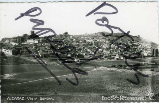 ALCARAZ (ALBACETE). VISTA GENERAL. EDIC. FOTO LOPEZ Nº 1. FOTOGRAFICA. (Postales - España - Castilla La Mancha Antigua (hasta 1939))
