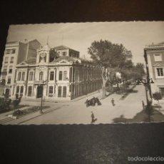 Postales: ALBACETE AYUNTAMIENTO Y AVENIDA DE JOSE ANTONIO. Lote 57165332