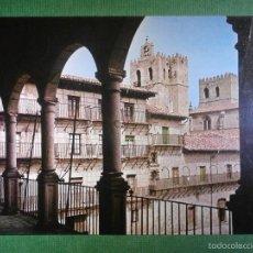 Postales: POSTAL - GUADALAJARA - 3 SIGUENZA - PLAZA MAYOR Y CATEDRAL - EDICIONES VISTABELLA - SIN ESCRIBIR -. Lote 57527398