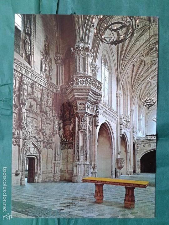 PRECIOSA POSTAL IGLESIA SAN JUAN DE LOS REYES, TOLEDO, AÑOS 70 (Postales - España - Castilla la Mancha Moderna (desde 1940))