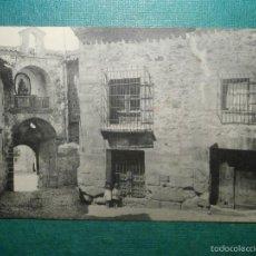 Postales: POSTAL - ESPAÑA - GUADALAJARA - SIGUENZA, CALLE DE LOS HERREROS, PORTAL MAYOR, HAUSER Y MENET, NUEVA. Lote 57821636