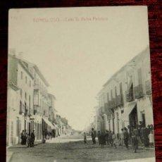 Postales: POSTAL DE TOMELLOSO, CIUDAD REAL, CALLE VICTOR PEÑASCO, FOT. L. SAUS, VANDERMAN, MADRID, NO CIRCULAD. Lote 57883840