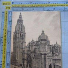 Postais: POSTAL DE TOLEDO. SIGLO XIX - 1905. CATEDRAL VISTA PRINCIPAL. GARCÉS. 247. Lote 58385576